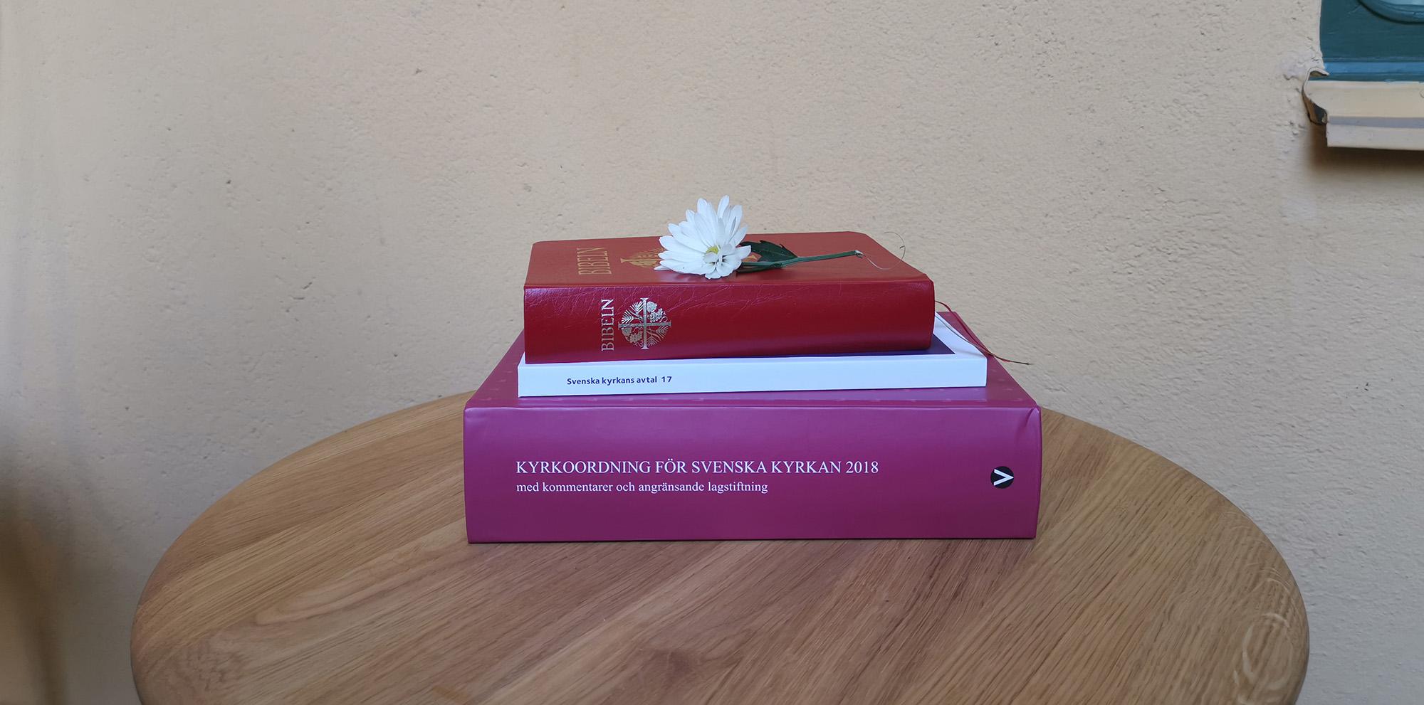 KyrkA kollektivavtal Bibeln Kyrkorodningen