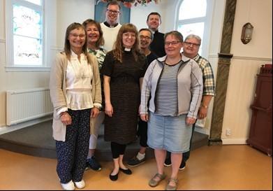 KyrkA Växjö stiftskrets delar av styrelsen