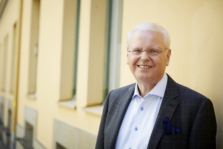 KyrkA Bror Holm förbundsordförande Foto Jenny Unnergård