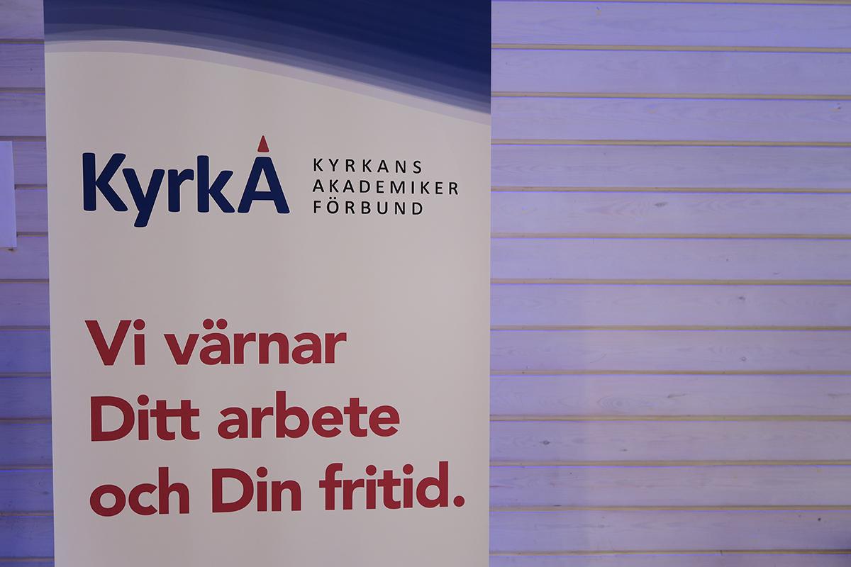 KyrkA budskap slogan