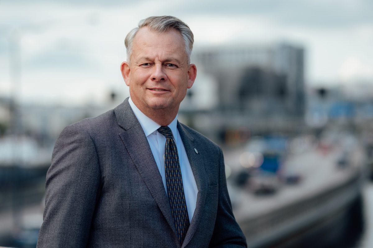 Göran Arrius Sacos ordförande KyrkA