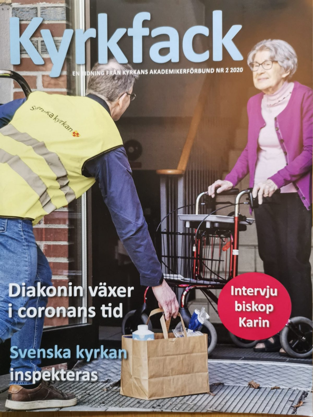 Omslagsbild diakoni Kyrkfack nr 2 2020