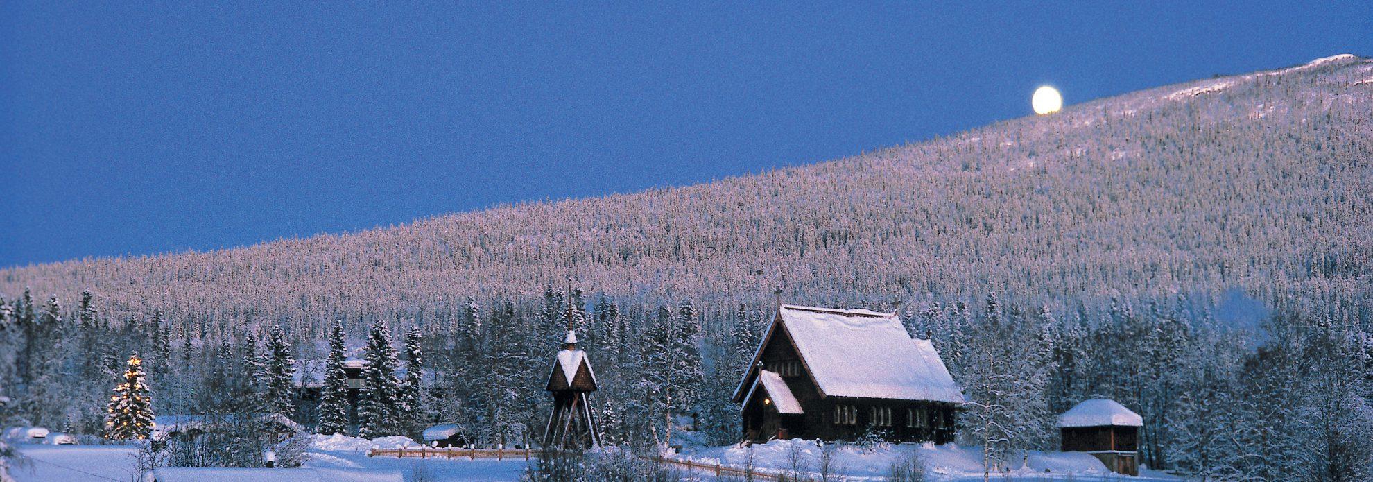 Juldag vid Kvikkjokks kyrka KyrkA